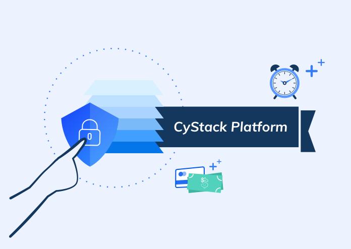 cystack platform infographic bảo mật website toàn diện