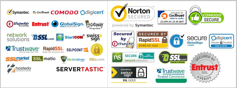Các nhà cung cấp chứng chỉ SSL tốt nhất thế giới năm 2017
