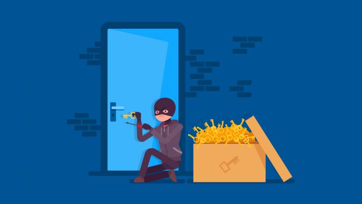 Brute force attack là cuộc tấn công liên tục nhằm vào các mật khẩu không đủ mạnh