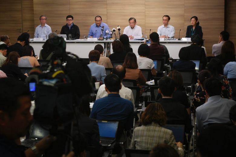 Họp báo về vụ rò rỉ dữ liệu của tập đoàn SingHealth Singapore
