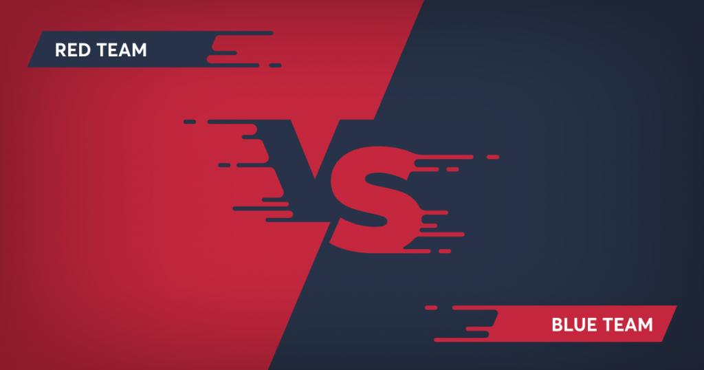 red team và blue team khác nhau như thế nào