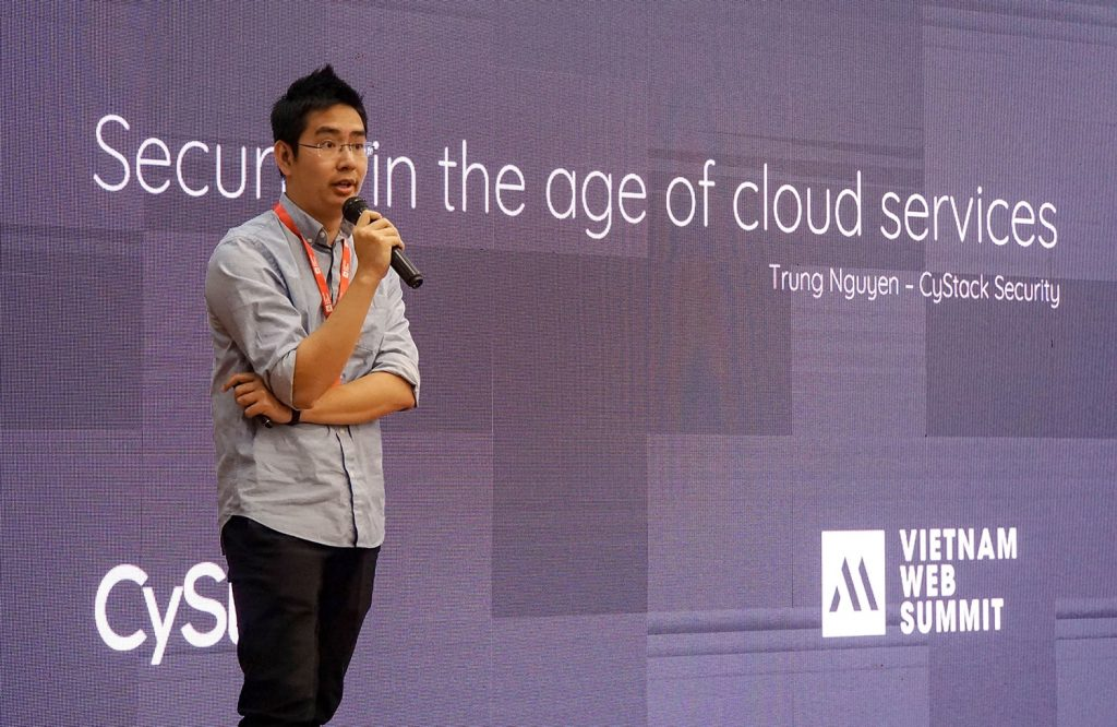 Nguyễn Hữu Trung tại Vietnam Web Summit 2019