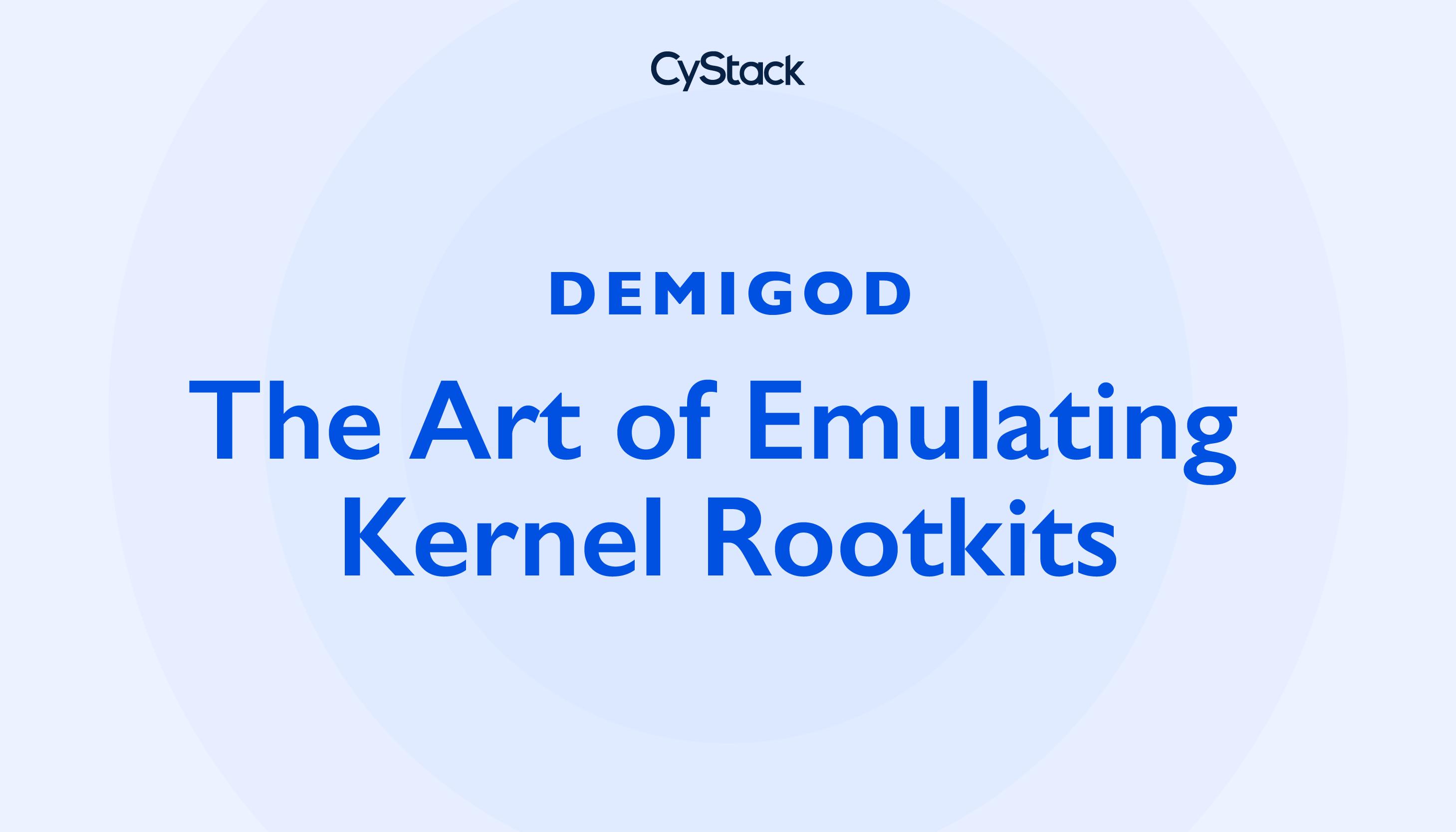 macOS Rootkit Emulation