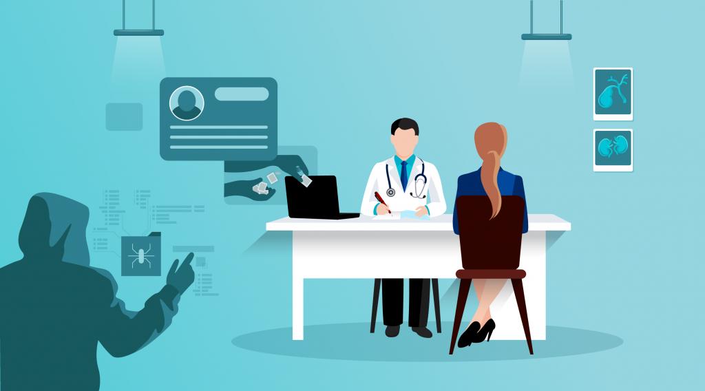 an ninh mạng trong ngành y tế