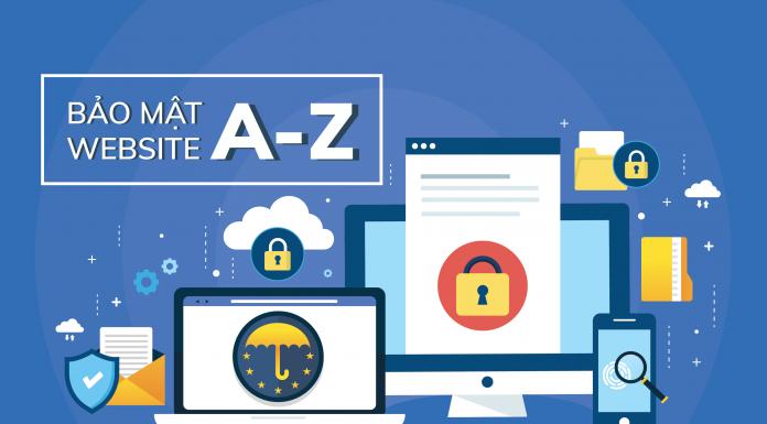 Bảo mật website A-Z