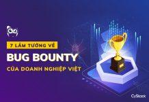 7 lầm tưởng về bug bounty của doanh nghiệp