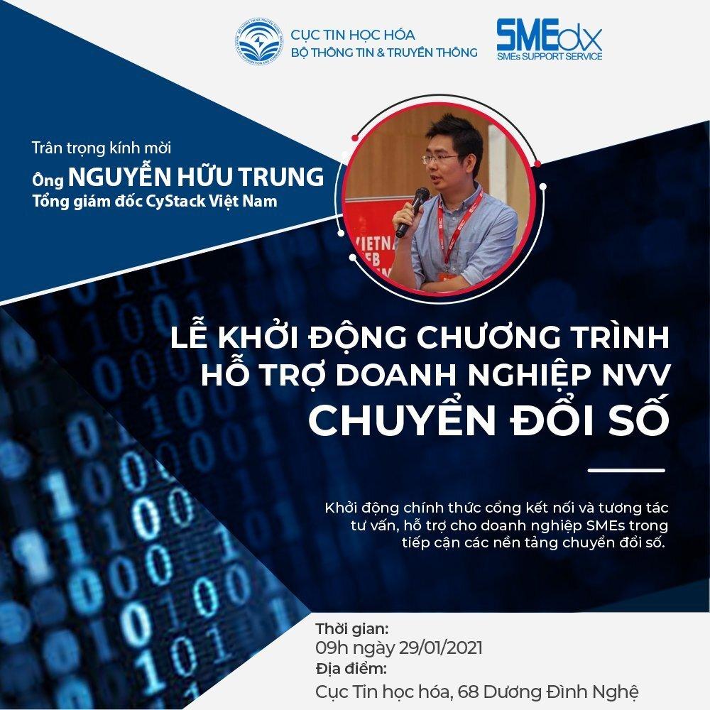 CyStack Platform đồng hành cùng doanh nghiệp SME chuyển đổi số