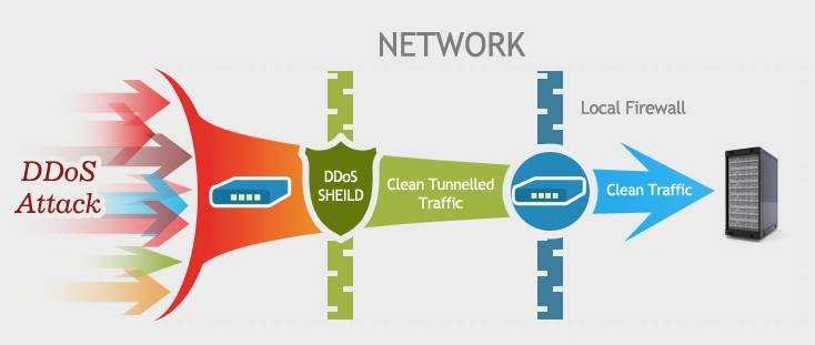 Hình ảnh 3. Liên hệ với các chuyên gia giảm thiểu DDoS xử lý cuộc tấn công