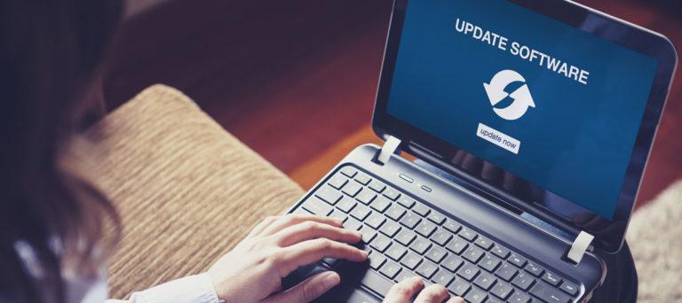 Không cập nhật phần mềm là một trong những phương thức bảo mật mạng kém