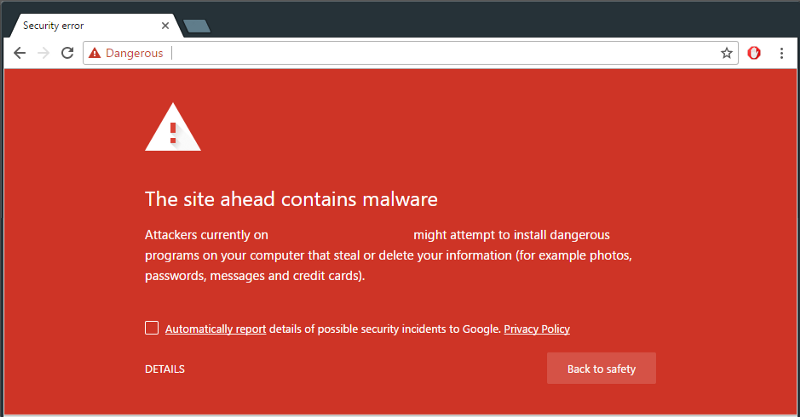 Website hacked and spreading malware
