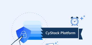 cystack platform comprehensive website security infographic