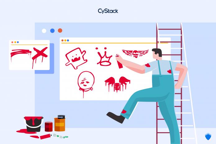 """Defacement là gì và cách để website không bị hacker """"vẽ bậy"""" cystack"""