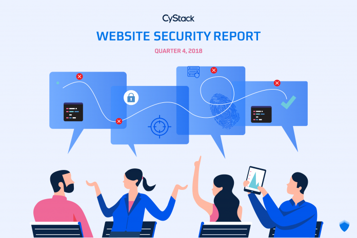 báo cáo an ninh website quý 4 năm 2018 cystack